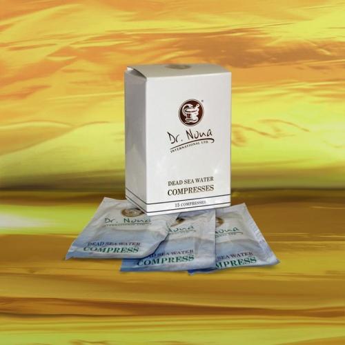 Салфетки-компрессы из воды Мертвого моря