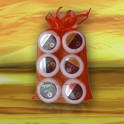 Набор гелевых сухих духов 6 ароматов по 5 мл. Доктор Нона ● Dr. Nona